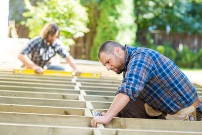 install a deck